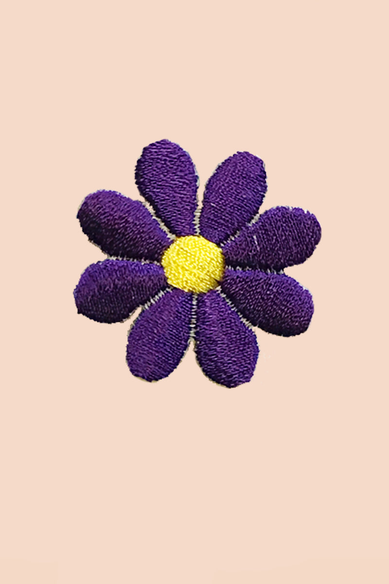 Daisy Patch in Violet