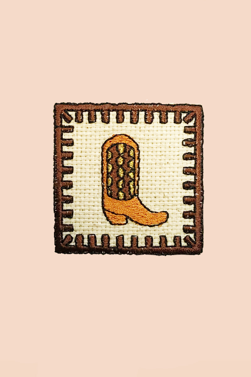 Cowboy Boot Patch