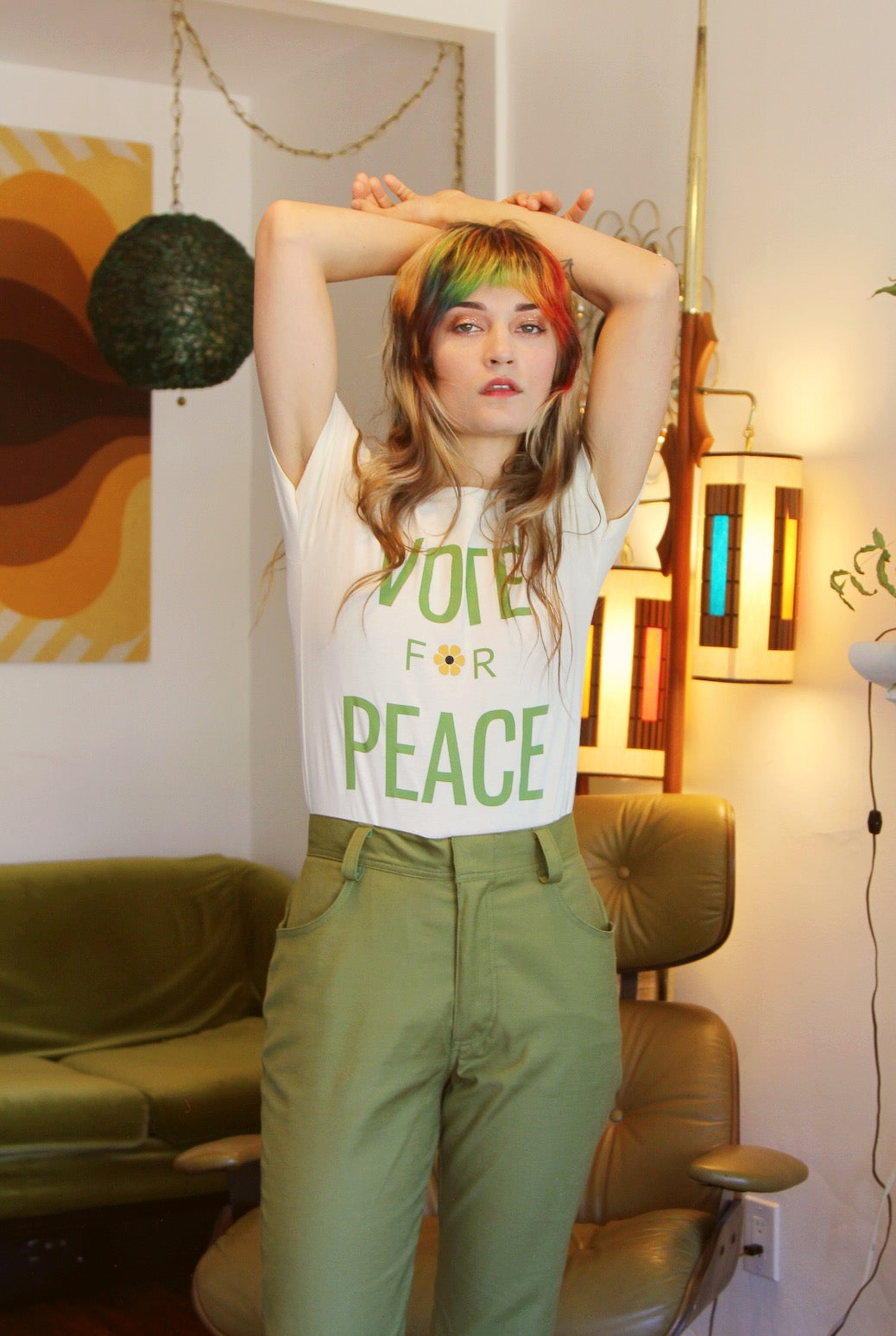 Vote for Peace Tee