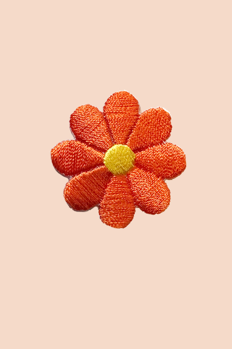Daisy Patch in Tangerine