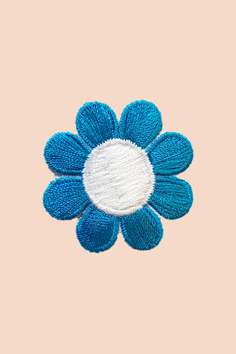 Groovy Lil Flower Patch in Blue