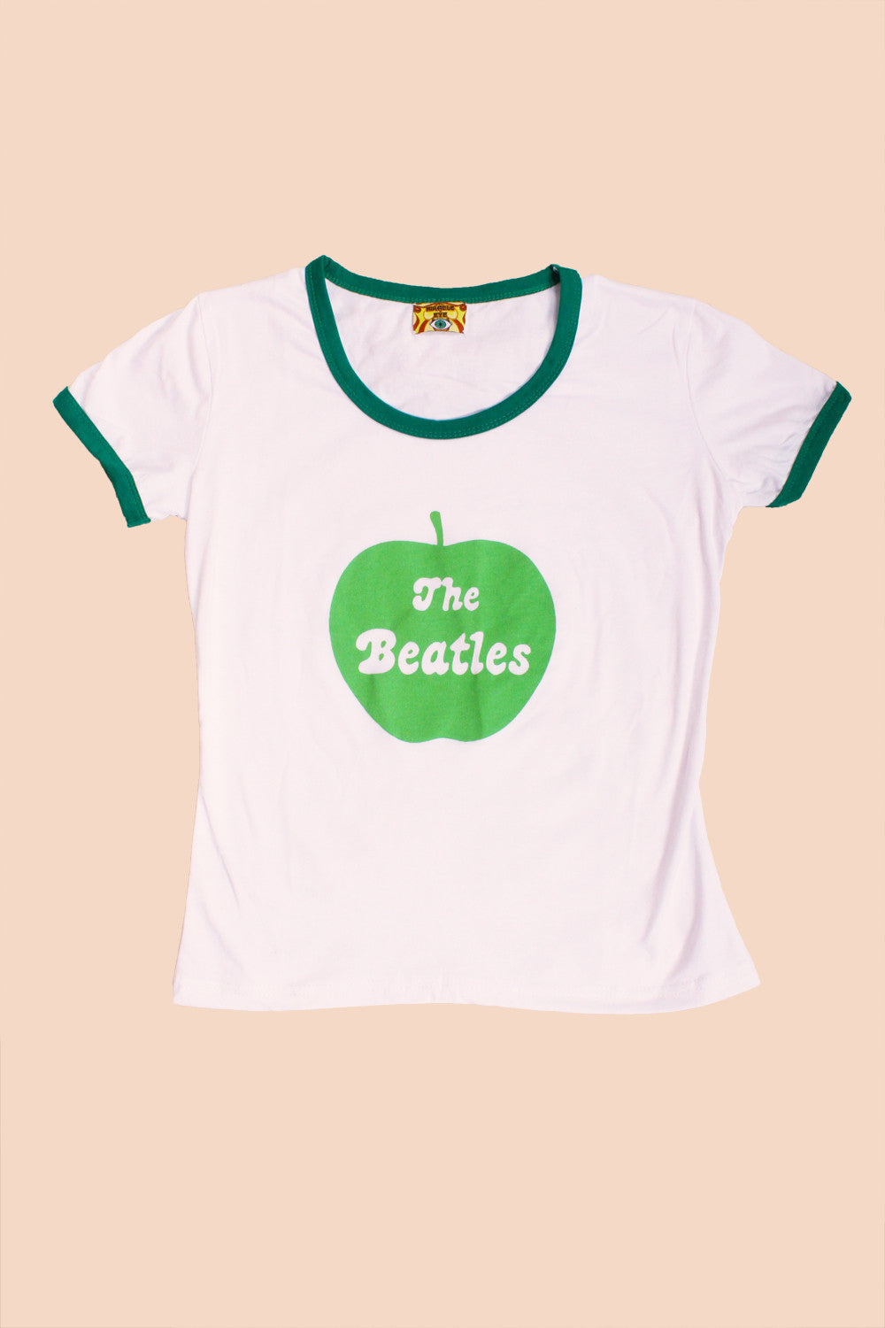 Beatles Apple Ringer Tee
