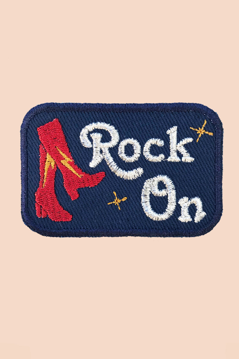 Rock On Patch