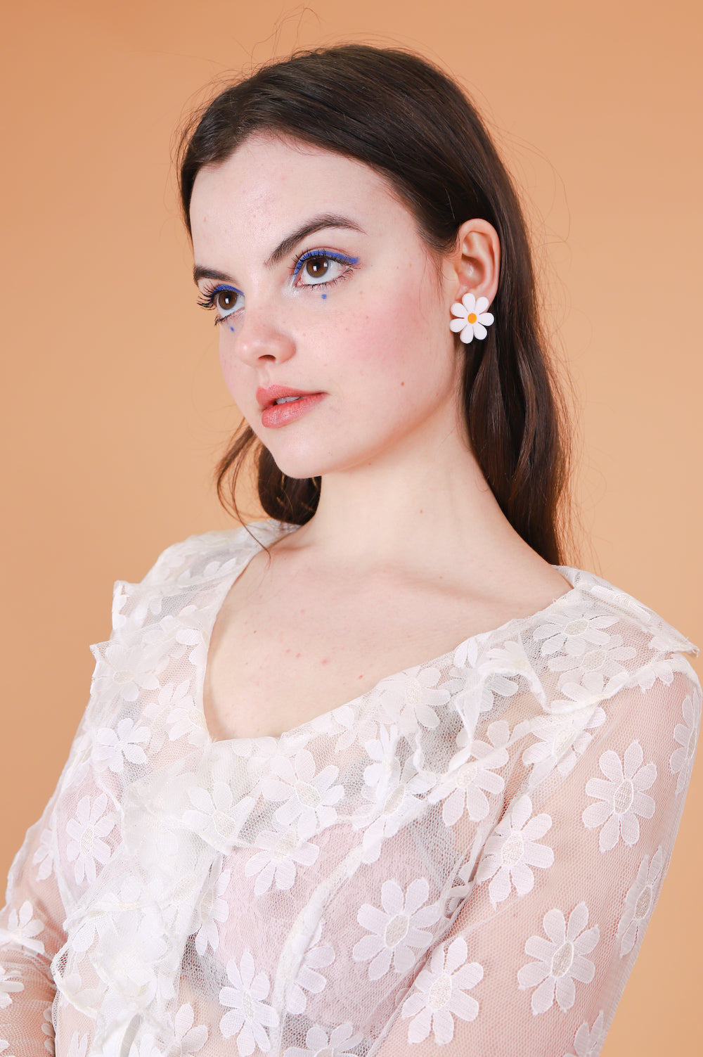 Daisy Earrings in Stud