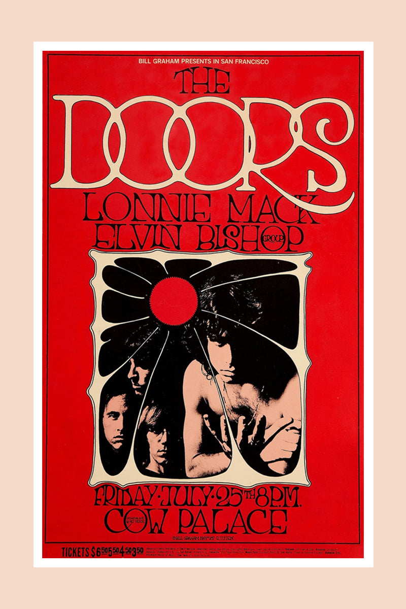 The Doors Print  sc 1 st  Miracle Eye : doors poster - pezcame.com