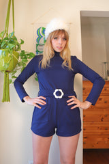 Françoise Romper in Navy