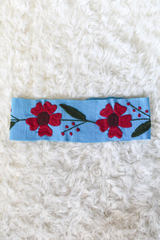 Pattie Boyd Belt in Blue