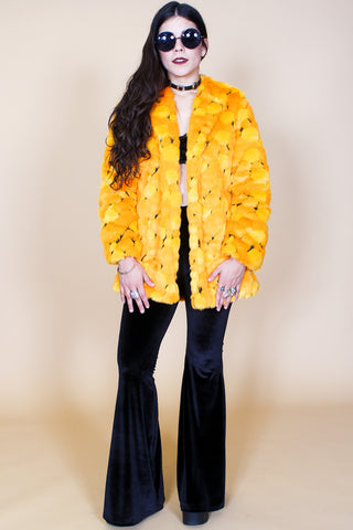 Marmalade Skies Faux-Fur Coat