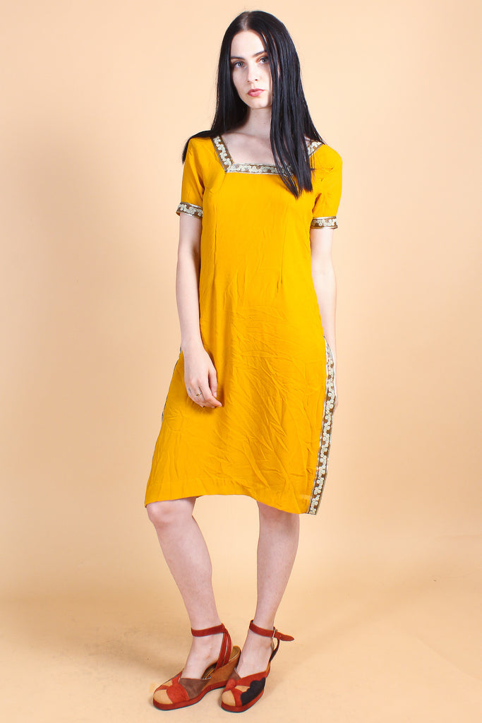 Vintage Mean Mr. Mustard Dress