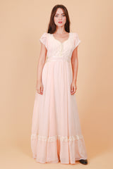 Vintage 1970's Valley of the Dolls Gunne Sax Maxi-Dress