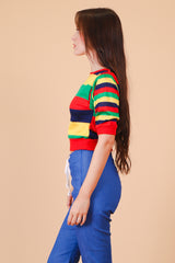 Vintage 1970's Over the Rainbow Top