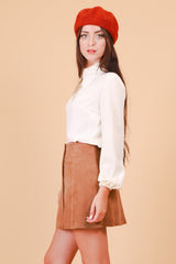 Vintage 1970's The Secretary Cream Blouse