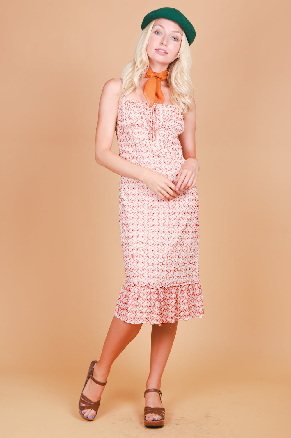 Vintage 1970's Pioneertown Love Story Dress