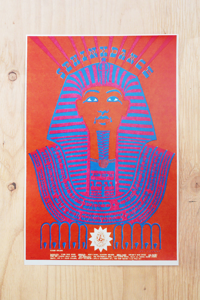The Steve Miller Blues Band - Avalon Ballroom 1967 Poster