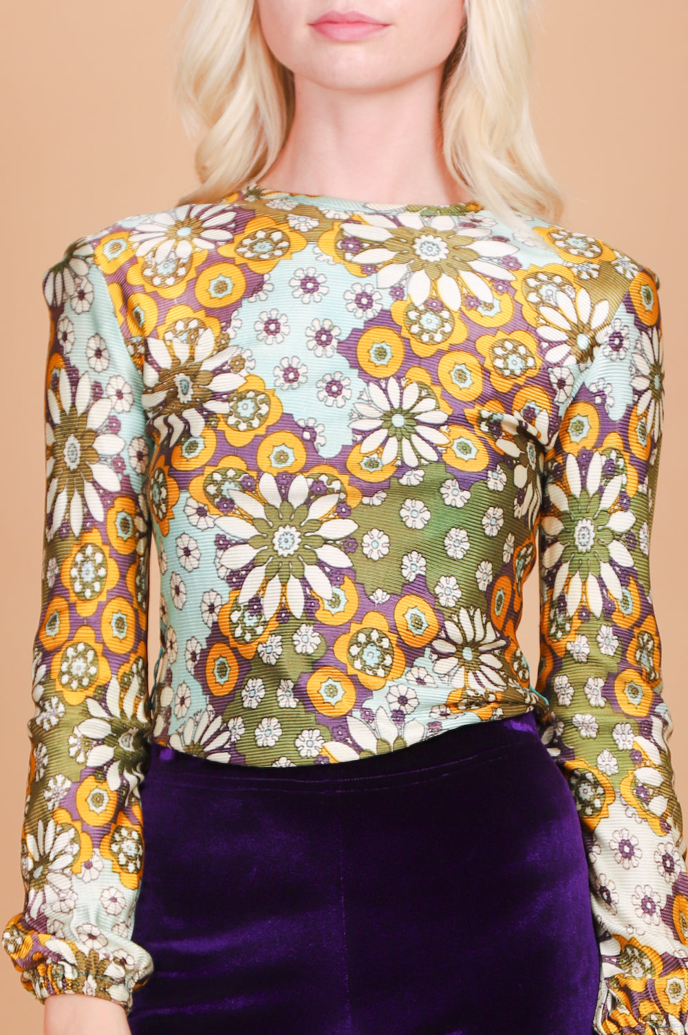 Vintage 1960's Psychedelic Dream Machine Top