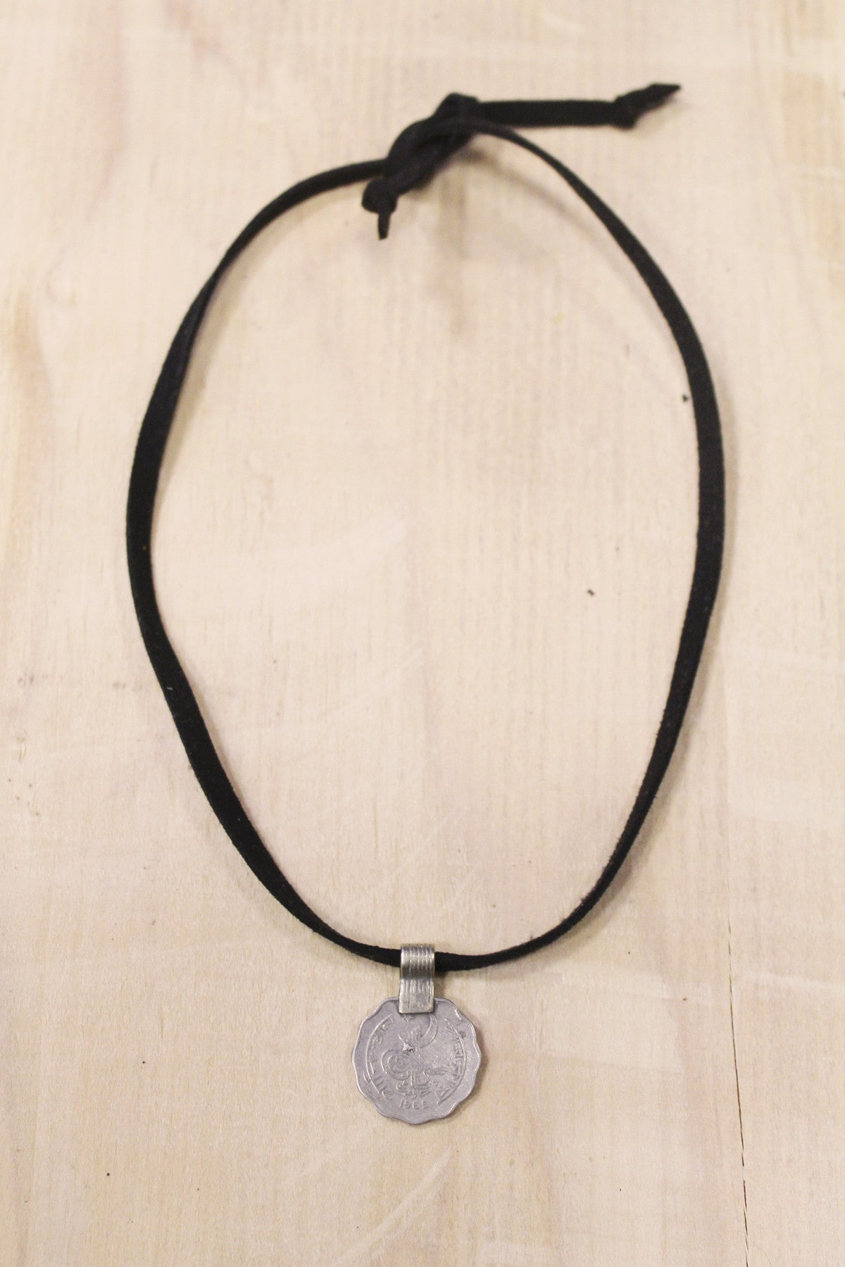 Kashmir Vegan Choker in Black
