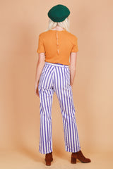 Vintage 1960's Electric Ladyland Purple Stripe Pants