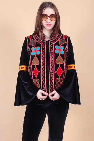 Vintage Hand-Embroidered Bowie Jumpsuit
