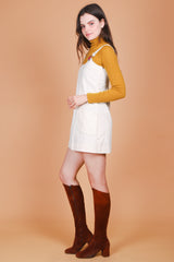 Vintage 1970's Moonlight Drive Mini-Dress