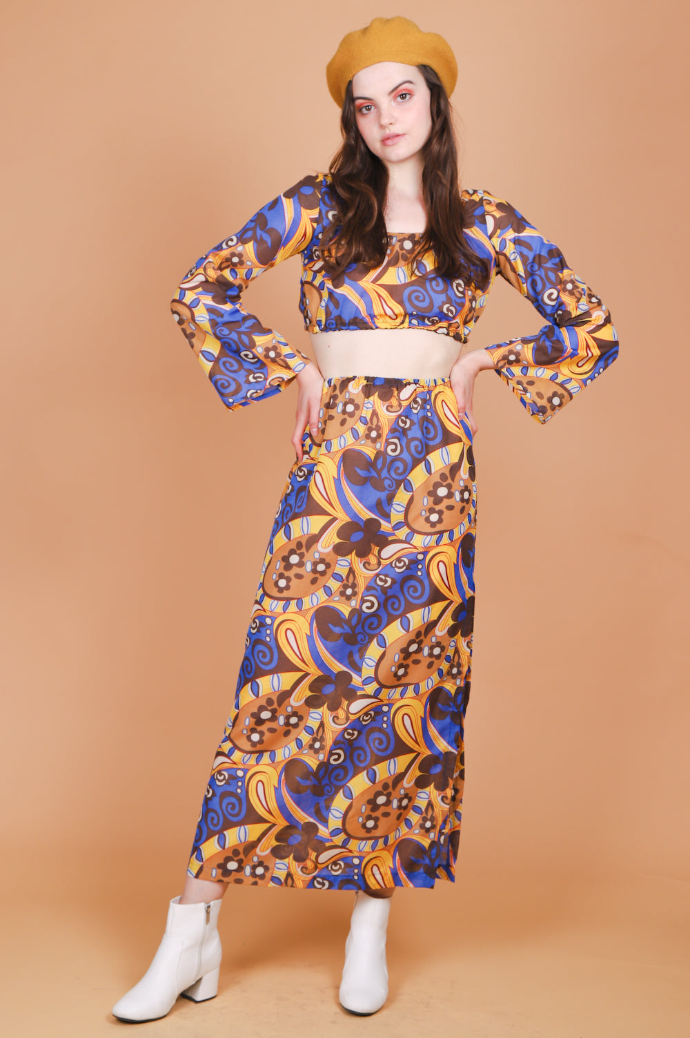 Vintage Somebody Groovy Two-Piece Set