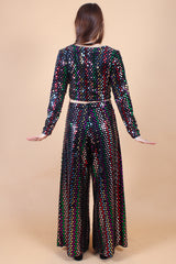 Vintage Betsey Johnson Disco Nights Two-Piece Set
