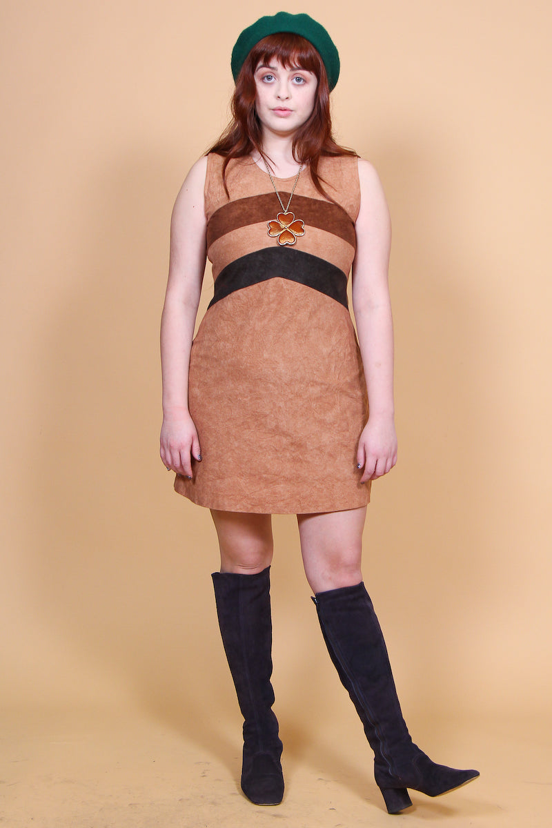 Vintage 1970's The Mamas and The Papas Mini-Dress