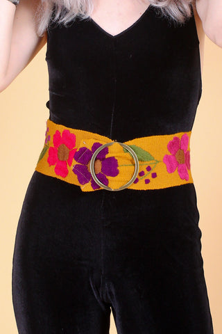 Pattie Boyd Belt in Honey