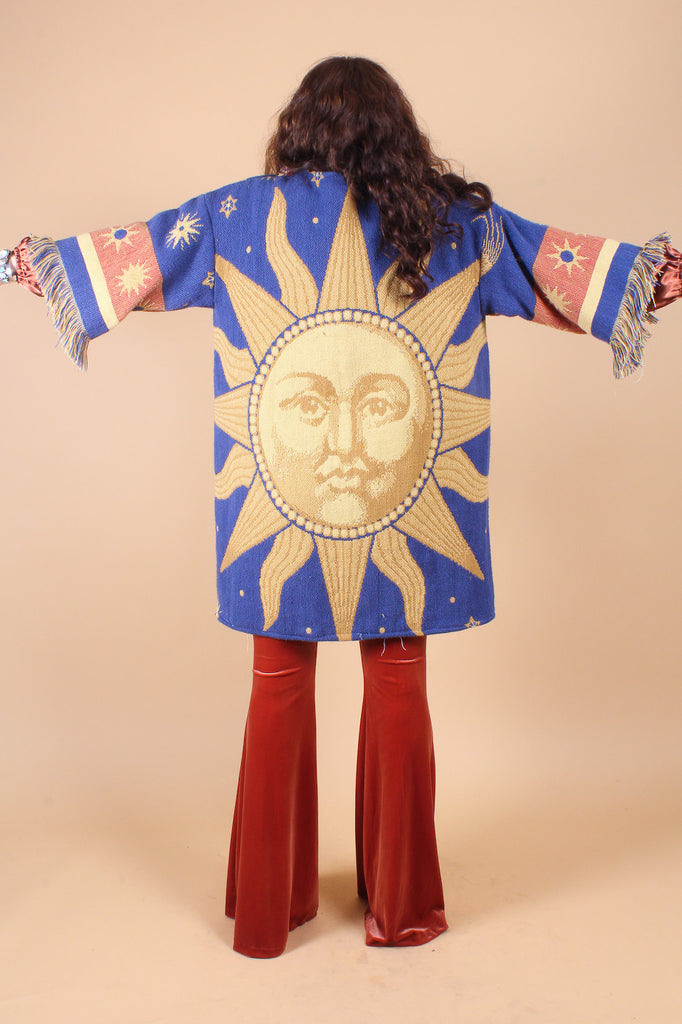 Vintage Celestial Dream Sun Coat