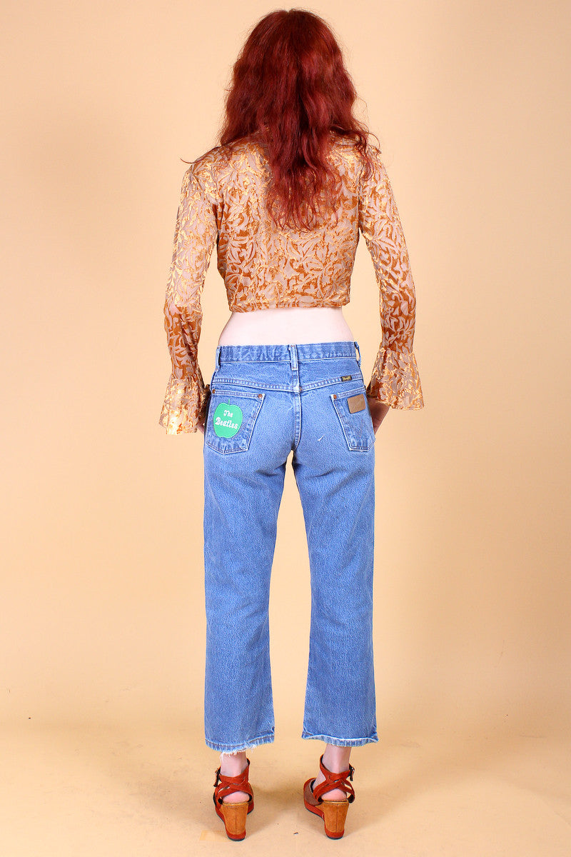 Vintage 1970's Beatles Apple Jeans