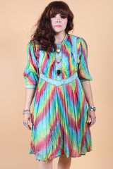 Vintage She's a Rainbow Dress