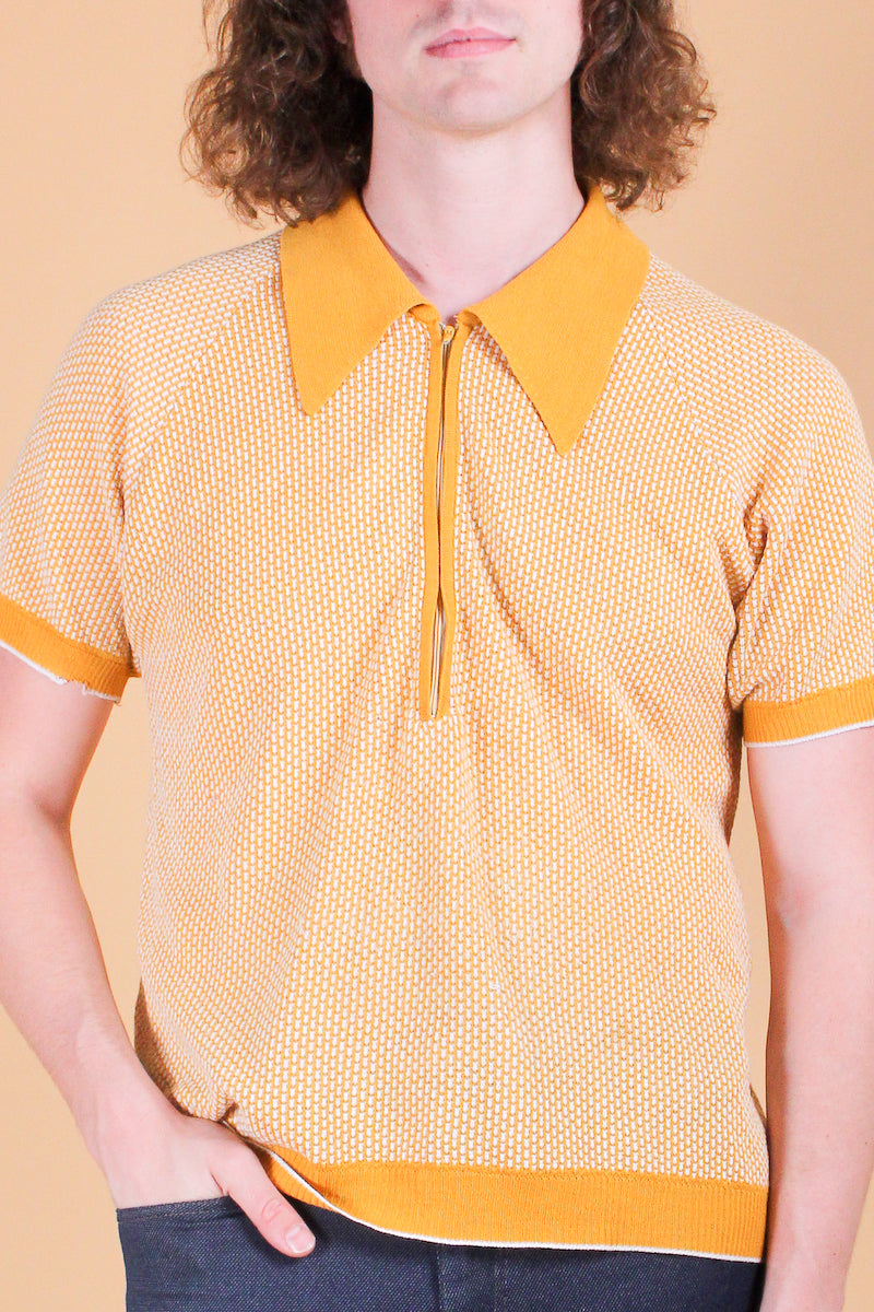 Vintage 1960's Pet Sounds Mustard Shirt