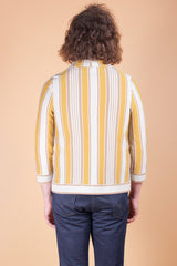 Vintage 1970's Sunshine Stripe Sweater