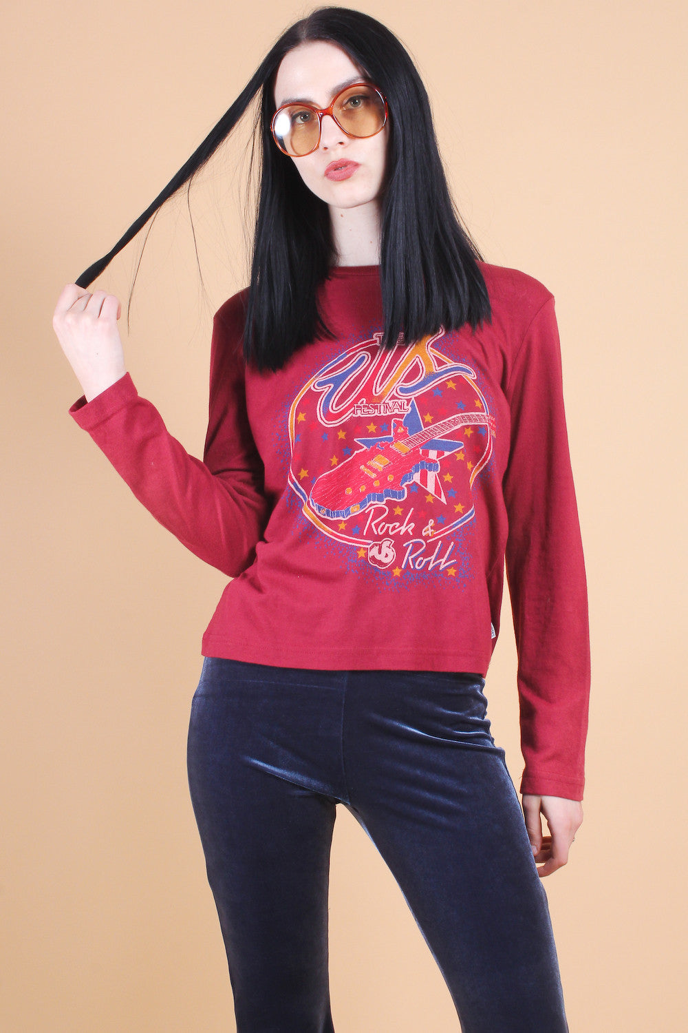 Vintage US Rock 'n Roll Festival Long-Sleeve Tee