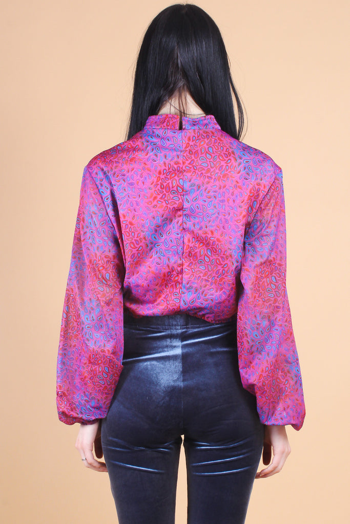 Vintage Crystal Paisley Persuasion Top