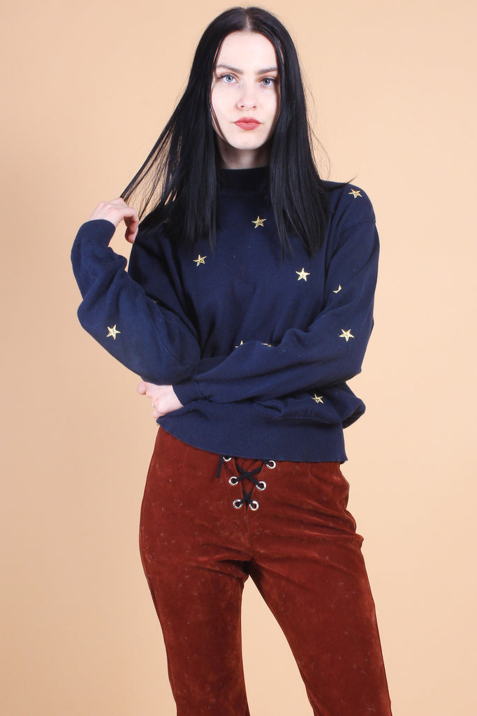 Vintage Star Constellations Sweater