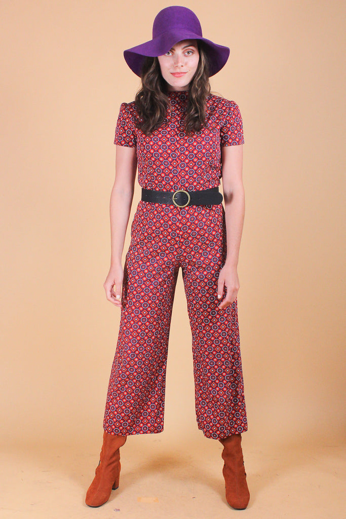 Vintage 1960's Kaleidoscope Dream Jumpsuit