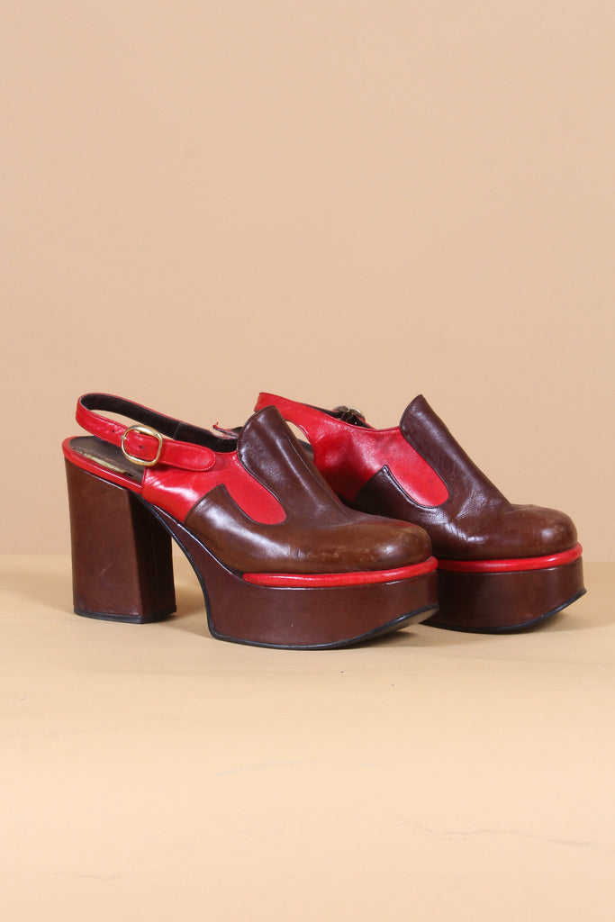 Vintage 1960's Ruby Tuesday Platforms