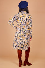 Vintage 1960's Psychedelic Bloom Tunic Dress