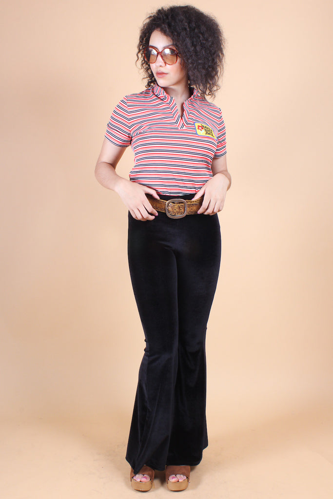 Vintage Have a Nice Day Stripe Top