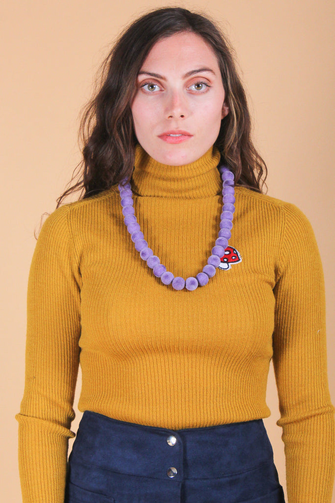 Shelley Duvall Necklace in Lavender