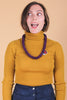 Shelley Duvall Necklace in Plum
