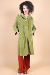 Vintage 1970's Moss Mountain Velvet Coat