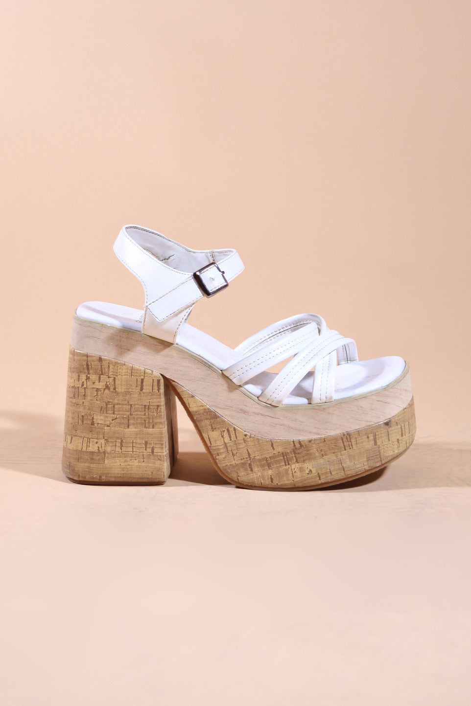 Vintage Shifting Sands Platform Sandals
