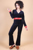 Vintage Love Buzz Velvet Jumpsuit