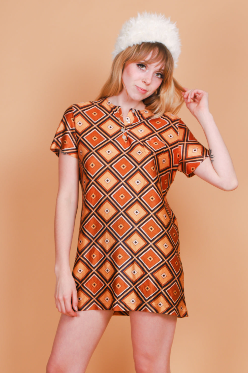 Vintage 1970's Boogie Nights Mini-Dress