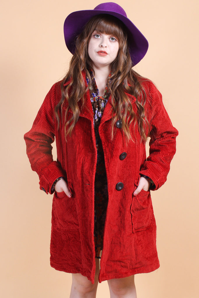 Vintage Ruby Tuesday Corduroy Coat
