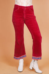 Vintage 1970's Jumpin' Jack Flash Corduroy Bells