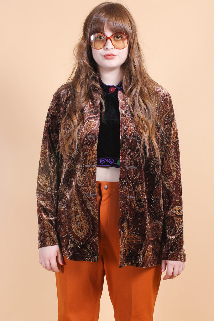 Vintage The Mamas & The Papas Velvet Jacket