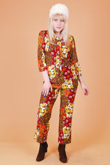 Vintage 1970's Creeque Alley Two-Piece Set