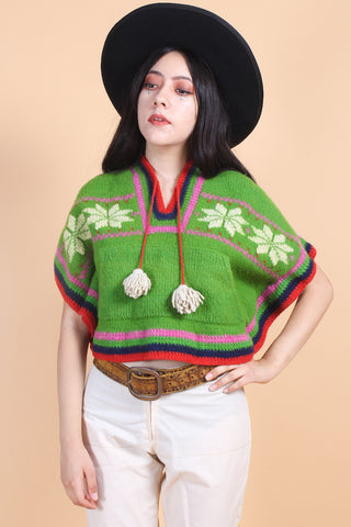 Vintage 1970's Canyon Sunrise Sweater